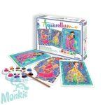 Aquarellum, varázslatos lányok, nagy - Sentosphere SA6330