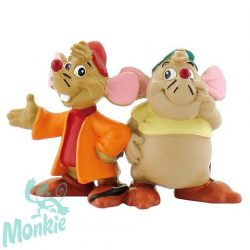 Hamupipőke: Jackie és Guszti játékfigura - Bullyland