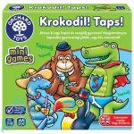 Krokodilos gyorsasági kártyajáték / Krokodil! Taps! (Crocodile Snap), ORCHARD TOYS OR356