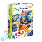 Aquarellum, kozmosz, foszforeszkáló, nagy - Sentosphere SA6413