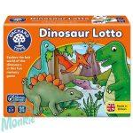 Dinoszaurusz lottó játék (Dinosaur Lotto), ORCHARD TOYS OR036