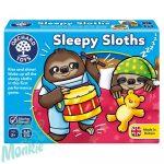Álmos lajhárok (Sleepy Sloths), ORCHARD TOYS OR097