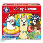 Úszógumis lámák (Loopy Llamas), ORCHARD TOYS OR099