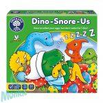 Horkoló dínók (Dino-Snore-us), ORCHARD TOYS OR108