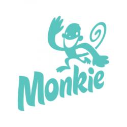 Skip Hop Zoo szilikonos előke Majom