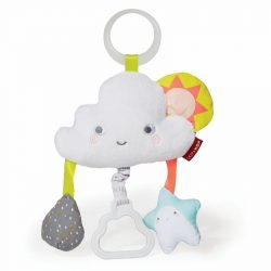 Skip Hop ezüst felhő rezgő játék babakocsira