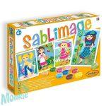 Homokszórós képek, kislányok - Sentosphere SA884