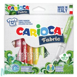 Textilfilc szett 12db - Carioca
