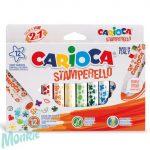 Nyomdafilc készlet 12db - Carioca