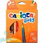 Carioca: Bébi ceruza 10db-os készlet