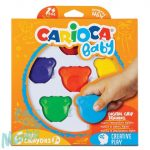 Carioca Maci formájú Baby teddy 6 db-os zsírkréta