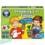 Bevásárlólista: Gyümölcsök, zöldségek kiegészítő (Shopping List Extras: Fruit&Veg) ORCHARD TOYS OR90
