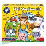 Old Mac Donald lottó / Old MCDonald bingó (Old MacDonald Lotto), ORCHARD TOYS OR071
