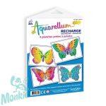 Pótlapok, Aquarellum képekhez, pillangók - Sentosphere SA661 R