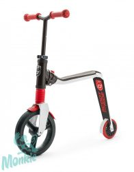 Scoot and Ride HIGHWAYFREAK 2 in 1 futóbicikli&roller 3+ (piros)