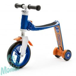 Scoot and Ride Highway baby+ 2in1 futóbicikli&roller darkblue/orange)