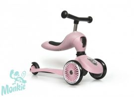 Scoot and Ride Highwaykick1.  2 in 1 kismotor/roller ROSE