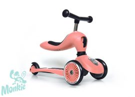 Scoot and Ride Highwaykick1.  2 in 1 kismotor/roller PEACH