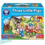 Három kismalac (Three Little Pigs), ORCHARD TOYS OR081
