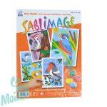 Pótlapok homokszórós képekhez, madarak - Sentosphere SA883 R