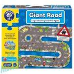 Utak óriás puzzle (Giant Road), ORCHARD TOYS OR286