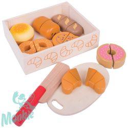 Bigjigs szeletelhető péksütemények