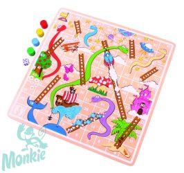 Bigjigs kígyók és létrák társasjáték