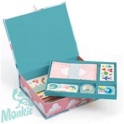 Djeco Lovely Paper Irodaszer készlet - Charlotte box set