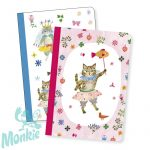 Djeco Jegyzetfüzet 2 db A/6 - Aiko little notebooks