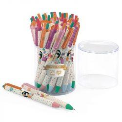 36 blue ballpoint pens