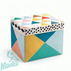 Djeco Tárolódoboz - Helyes doboz - Seat toy box
