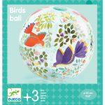 Djeco Birds ball - Felfújható labda - Madárkás mintás labda