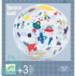 Djeco Space ball - Felfújható labda - Űrjárművek