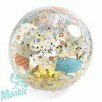 Felfújható labda Nyuszó és Cicó - Kawaii ball