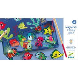 Djeco Horgász játék - Színes horgászat - Coloured fishing