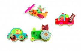 Djeco Szerelő játék - Járművek  - Assembling