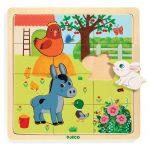 Djeco Képkirakó, puzzle - Tanya puzzle - Puzzlo Farm