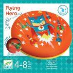 Djeco Flying Hero - Rugalmas frizbi - Mozgásfejlesztő kültéri játék