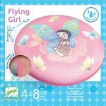 Djeco Flying Girl - Rugalmas frizbi- Kültéri mozgásfejlesztő játék