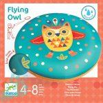 Djeco Flying Owl - Rugalmas frizbi - Mozgásfejlesztő kültéri játék