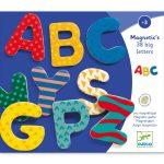 Djeco 38 big letters * - Mágneses betűkészlet - Nagybetűk