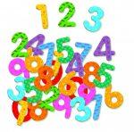 Djeco Mágneses számkészlet - Számok - 38 numbers