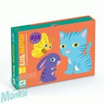 Djeco Little Match - Kártyajáték 2,5-5 éves gyerekeknek
