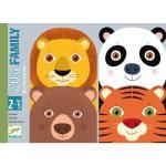 Djeco Little Family - Kártyajáték 2,5 éves kortól