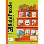 Djeco Kártyajáték - Csatározás - Bata puzzle