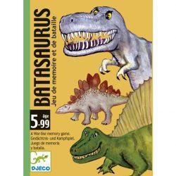 Djeco Kártyajáték -  Dinók csatája - Batasaurus