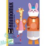 Djeco Animomix - Képrakosgató kártyajáték