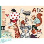 Kártyajáték Betűfaló ABC Miam