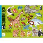 Djeco Kártyajáték - Állati kereső - Zanimatch