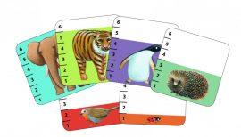 Djeco Kártyajáték  - Kisebb-nagyobb - Batanimo